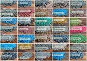 Вторичные полимеры: ПЭНД (HDPE),  ПЭВД(LLDPE),  ППР,  ПС-УПМ(HIPS),  PE100